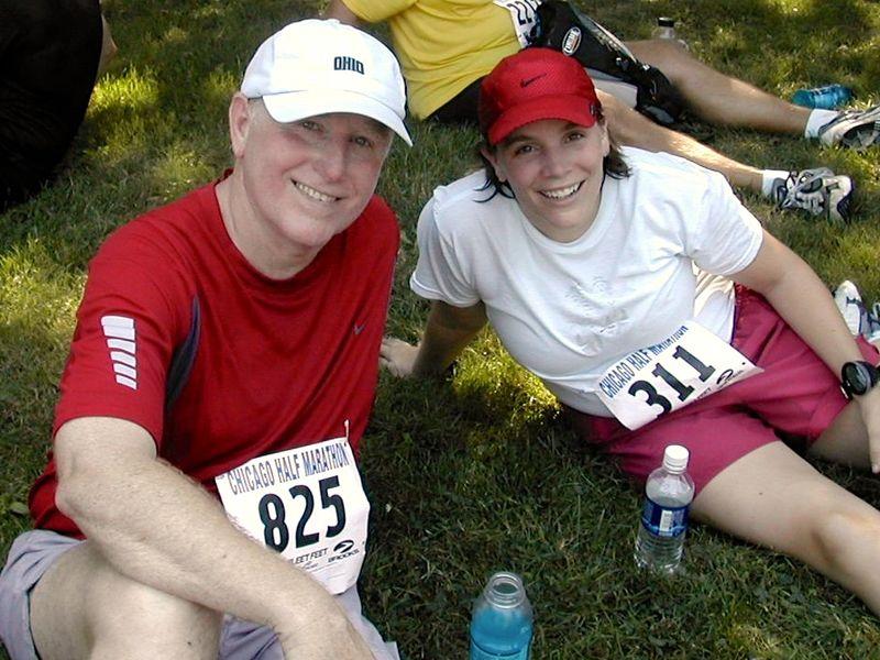 Dad half marathon